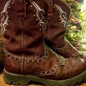 Justin boots Gypsy boots with rhinestones
